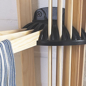 Our Radial Clothes Airer Fully Extended To Allow For Up 10 Laundry Items Dry